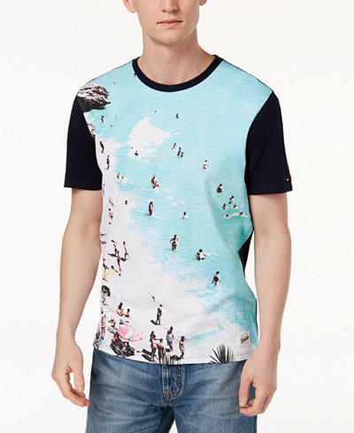 Tommy Hilfiger Men's Beach Bum Graphic-Print T-Shirt, Created for Macy's