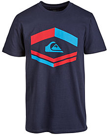 Quiksilver Men's Major Tone Logo-Print T-Shirt
