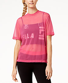 Fila Layered Mesh Top