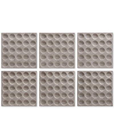 Uttermost Rogero 6-Pc. Wall Art Squares Set