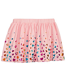 Epic Threads Toddler Girls Heart-Print Scooter Skirt, Created for Macy's