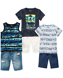 Epic Threads Little Boys Shirts & Shorts Separates, Created for Macy's