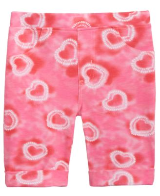 Toddler Girls Tie-Dyed Bermuda Shorts, Created for Macy's