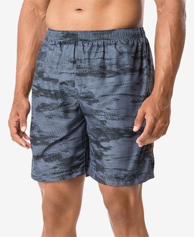 Speedo Men's Halftone Tide Tech Printed Swim Trunks