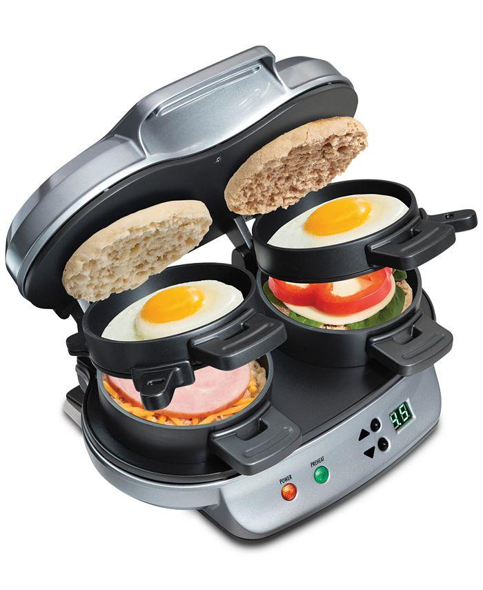 Hamilton Beach - Dual Breakfast Sandwich Maker