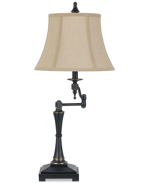Cal Lighting Madison Swing Arm Table Lamp
