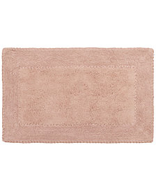 "Laura Ashley Cotton Ruffled 20"" x 34"" Bath Rug"