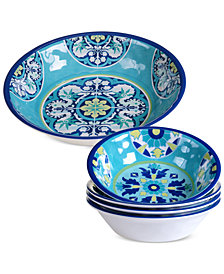 Certified International Granada 5-Pc. Salad Set