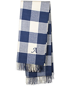 "Cathy's Concepts Personalized Blue Buffalo Check 50"" x 60"" Throw"