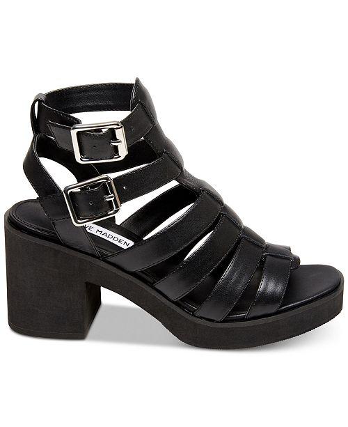 Steve Madden Women's Clue Platform Gladiator Sandals ezZM2fym