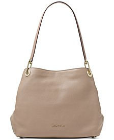 Raven Pebble Leather Tote