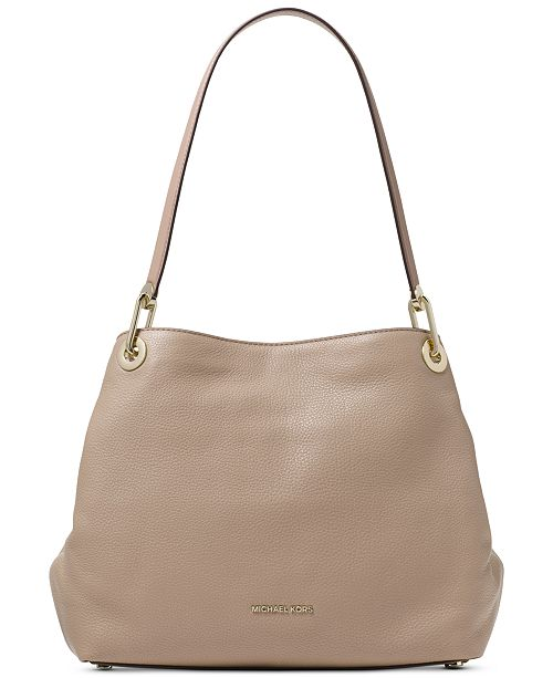 fc5ecf38a5787 Michael Kors Raven Pebble Leather Tote   Reviews - Handbags ...