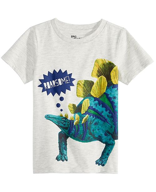 fb4fdab7c34e ... Epic Threads Toddler Boys Dino-Print T-Shirt, Created for Macy's ...