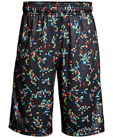 Under Armour Stunt Printed Shorts, Big Boys
