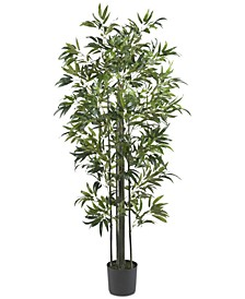 6' Artificial Bamboo Silk Tree