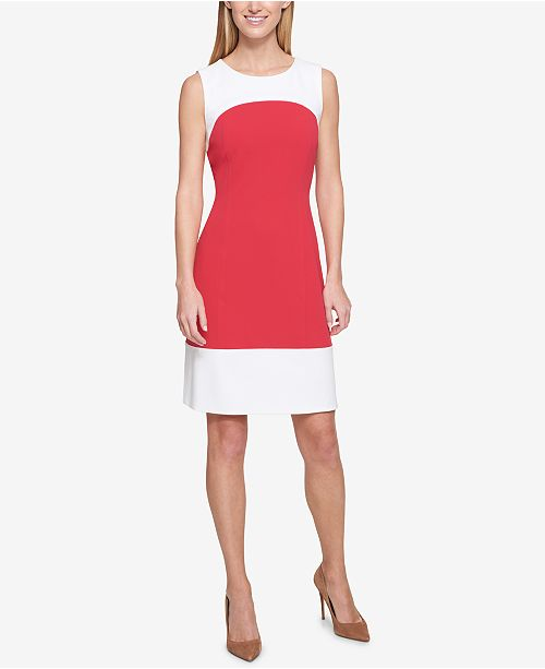 Tommy Hilfiger Colorblocked Dress