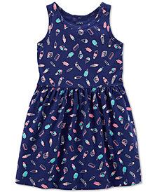 Carter's Toddler Girls Ice Cream-Print Cotton Tank Dress