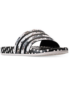 adidas Women's Originals Adilette Farm Slide Sandals from Finish Line