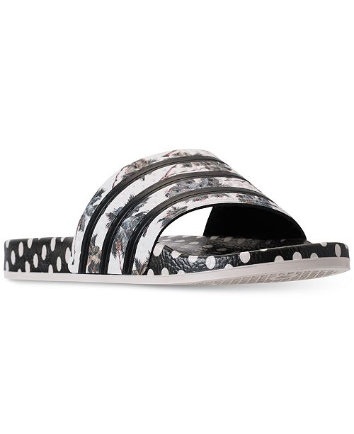 quality design 49324 aac00 ... adidas Womens Originals Adilette Farm Slide Sandals from Finish ...