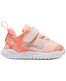 Nike Toddler Girls' Free Run 2018 Running Sneakers from Finish Line