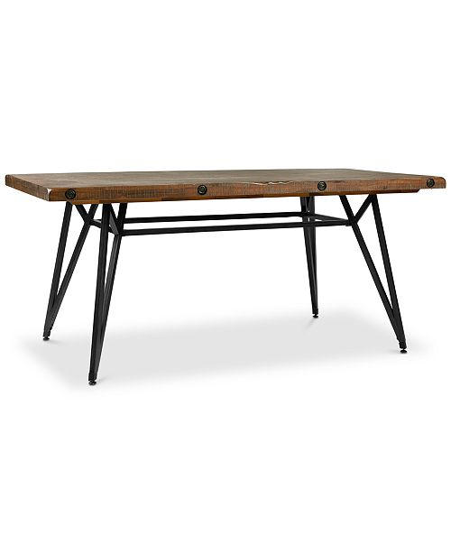 SUNDAY THEORY Welburne Dining Table, Quick Ship