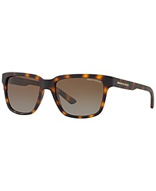 Polarized Sunglasses , AX4026S 56