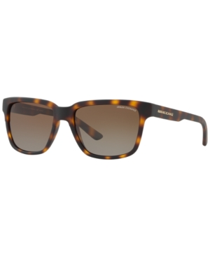 Armani Exchange POLARIZED SUNGLASSES, AX4026S 56
