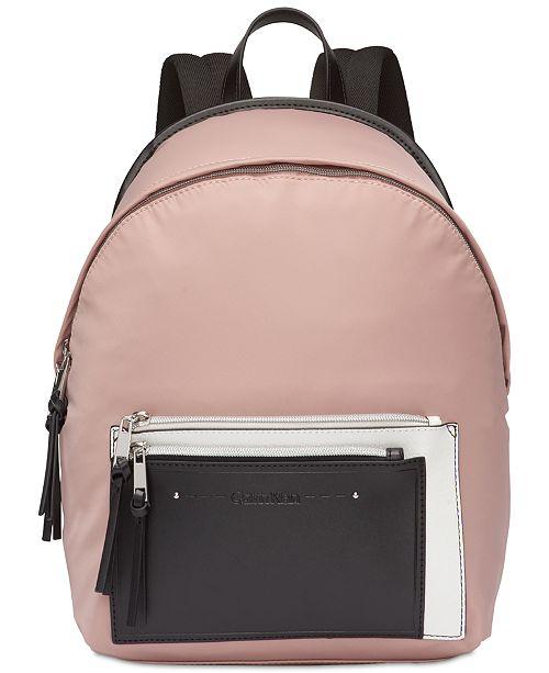 97bae41b72a Calvin Klein Lisa Nylon Backpack & Reviews - Handbags ...