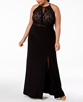 5caf0159e483a Clearance Closeout Plus Size Prom Dresses 2019 - Macy s