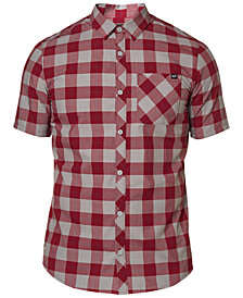 Fox Men's Ash Plaid Button-Up Shirt