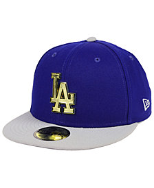 New Era Los Angeles Dodgers Golden Finish 59FIFTY FITTED Cap