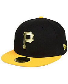 New Era Pittsburgh Pirates Golden Finish 59FIFTY FITTED Cap