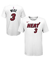 13cccb235 Nike Dwyane Wade Miami Heat Icon Name and Number T-Shirt