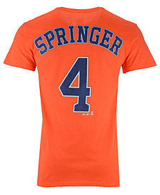 Majestic Men's George Springer Houston Astros Official Player T-Shirt