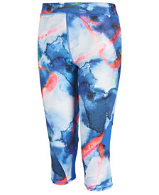 adidas Climalite® Alpha Printed Capri-Length Leggings, Big Girls