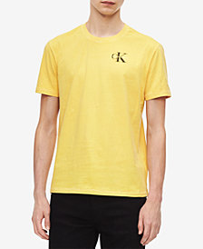 Calvin Klein Jeans Men's Logo-Print Cotton T-Shirt