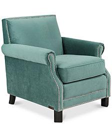 Niron Club Chair, Quick Ship