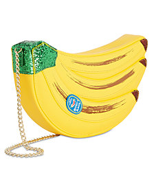 Betsey Johnson Lets Split Banana Crossbody