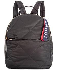 Tommy Hilfiger Kensington Quilted Nylon Backpack
