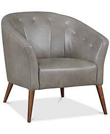 Attrayant Montrose Leather Accent Chair, Created For Macyu0027s