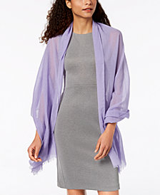 I.N.C. Solid Cotton Wrap & Cover-Up, Created for Macy's