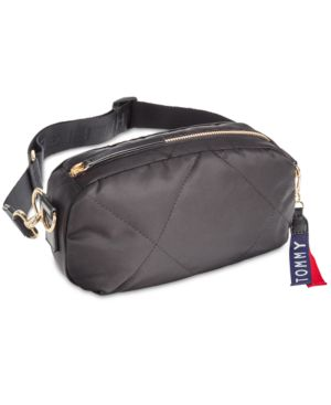 KENSINGTON QUILTED CONVERTIBLE NYLON FANNY PACK