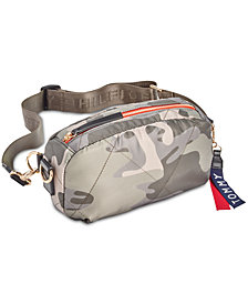 Tommy Hilfiger Kensington Quilted Convertible Nylon Fanny Pack