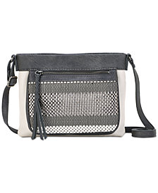 The Sak Sanibel Leather Mini Crossbody