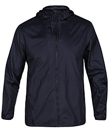 Hurley Men's Protect 2.0 Full-Zip Hooded Jacket