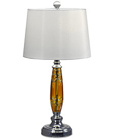 Dale Tiffany Glossy Amber II Table Lamp