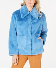 Trina Turk Faux-Fur Coat