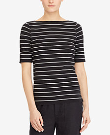 Lauren Ralph Lauren Petite Slim Fit Top