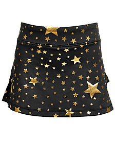 Ideology Little Girls Star-Print Tiered-Back Skort, Created for Macy's