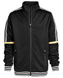 Ideology Big Boys Striped-Trim Zip-Up Jacket, Created for Macy's